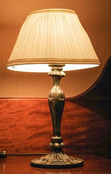 Replacement Lamp, Lampshade, Light, Night Light, Table