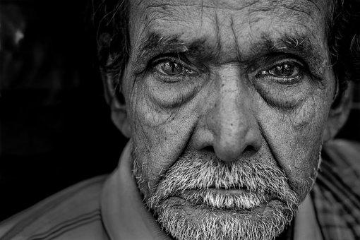 Portrait, People, Adult, Man, Face, Facial Hair, Hair
