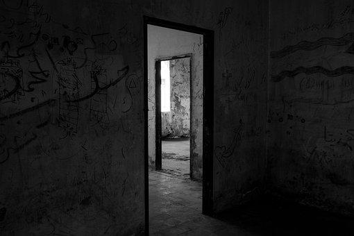Doorway, Architecture, Light, Door, Mystery, Shadow