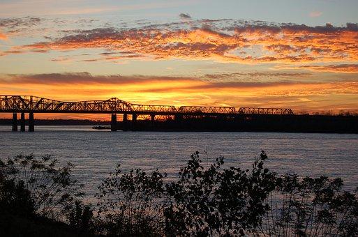Water, Sunset, Landscape, Sky, Outdoors, Dusk, Evening