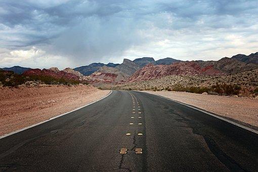 Road, Desert, Rock, Geology, Nature, Outdoors, Canyon