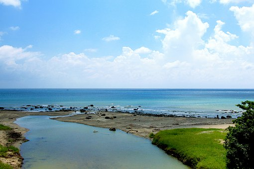 Water, Seashore, Sea, Beach, Nature, Sky, Outdoors