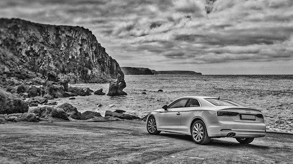 Car, Water, Travel, Sea, Seashore, Vehicle, Ocean