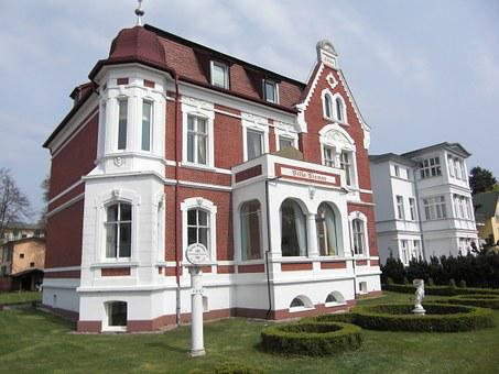 Bansin, Usedom, Island, Mecklenburg Western Pomerania