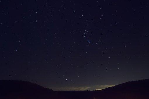 Starry Sky, Star, Night Sky, Astro, Evening Sky, Cosmos