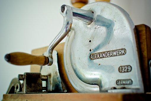Slicer, Cutting Machine, Brotmaschine, Cut, Crank