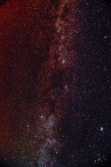 Milky Way, Night, Star, Night Sky, Sky, Astro