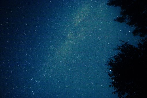 Night Sky, Starry Sky, Milky Way, Star, Sky, Universe
