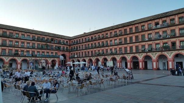 Plaza De La Corredera, Plaza, Cordoba, Corredera