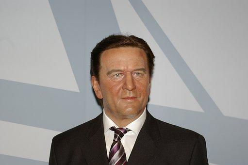 Gerhard Schröder, Politician, Wax