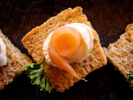 Canapes, Settee, Toast, Damascus, Entry, Parsley