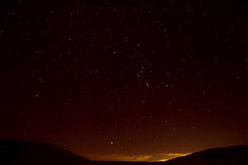 Starry Sky, Star, Night Sky, Astro, Evening Sky