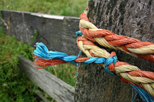 Knot, Rope, Tied, Twisted, Fastening, Security, String