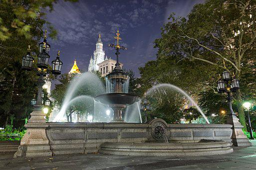 Travel, Architecture, Fountain, Tourism, City, Sky