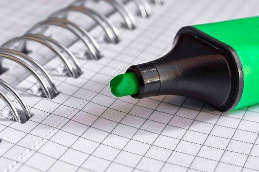 Felt Tip Pen, Paper, Document, Leave, Note, Office, Pen