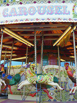 Carousel, Carnival, Tourism, Art, Festival, Holiday