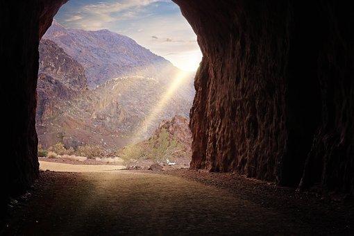 Railroad Trail, Hiking, Tunnel, Hoover Dam, Lake Mead