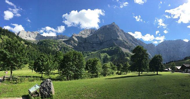 Mountain, Nature, Panorama, Landscape, Travel
