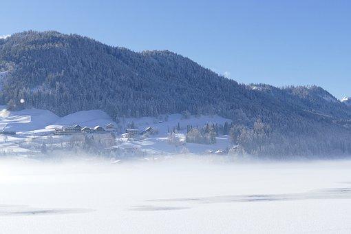 Snow, Winter, Mountain, Nature, Panorama