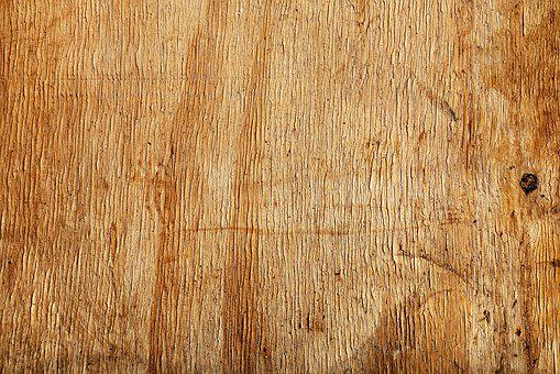 Wood, Board, Yellow, Golden, Grain, Rough, Texture