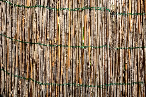 Bamboo Fence, Garden Fence, Bamboo, Fence, Partition