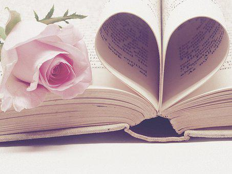 Literature, Book Bindings, Page, Book, Paper, Love
