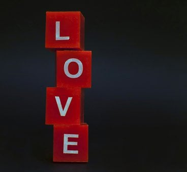 Love, Letters, Cube, Wood Cube, Luck, Word, Affection
