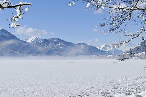 Snow, Winter, Mountain, Cold, Ice, Nature, Landscape