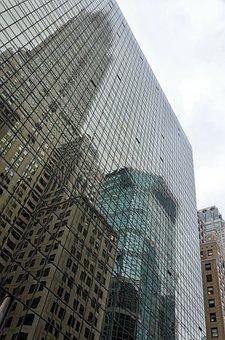 Skyscraper, Office, Architecture, Large, Glass, Company