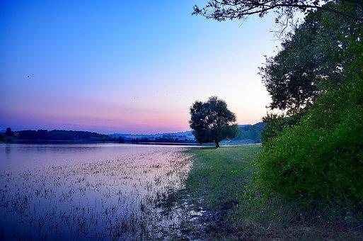 Nature, Water, Outdoor, Sky, Summer, Blue, Background