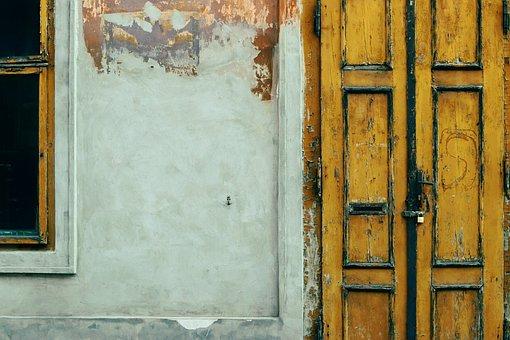 Door, Wood, Wall, Old, Wooden, Texture, Brown, Plank