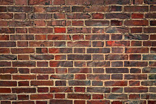 Wall, Brick Wall, Red Brick Wall, Weathered, Old, Aged
