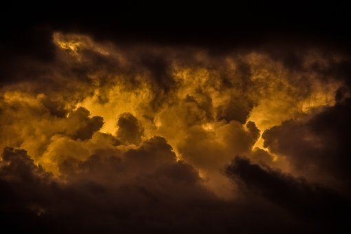 Sky, Sunset, Clouds, Dramatic, Weather, Nature, Dusk
