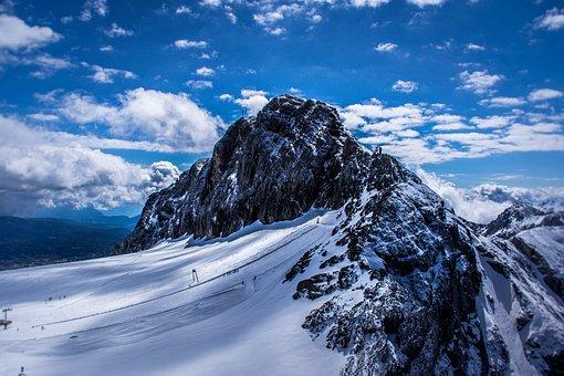 Snow, Mountain, Nature, Panorama, Sky, Mountain Summit