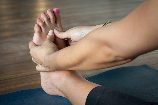 Woman, Foot, Relaxation, Treatment, People, Health Yoga