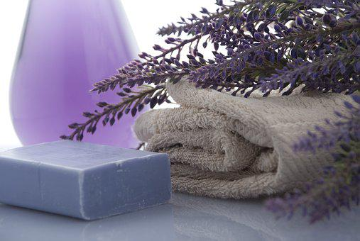 Lavender, Soap, Towels, Beauty, Bathroom, Shower
