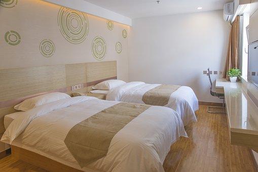 Bed, Furniture, Bedroom, Room, Pillow