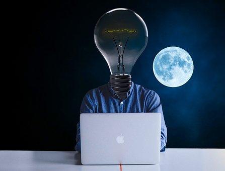 Lamp, Bulb, Inspiration, Invention, Light, Solution