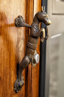 Old Door Handle, Florence, Tuscany, Chianti, Italy