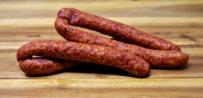 Sausage, Pepper Biter, Spicy, Eat, Food, Public Record