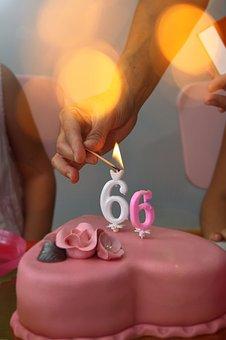 Candle, Celebration, Birthday, Hand, Color, Food, Mood