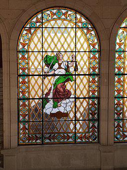 Window, Inside, Stained Glass Window, Cathedral, Glass