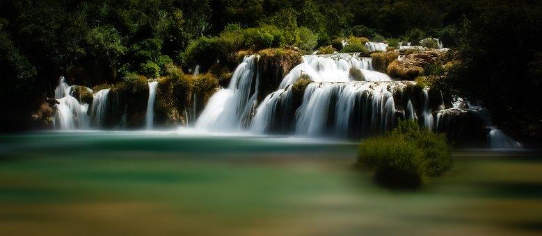 Krka, Croatia, Lake, The National Park, Holiday