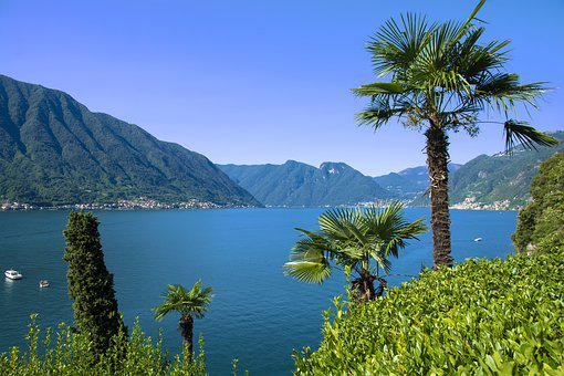 Nature, Waters, Travel, Tree, Mountain, Lake, Landscape