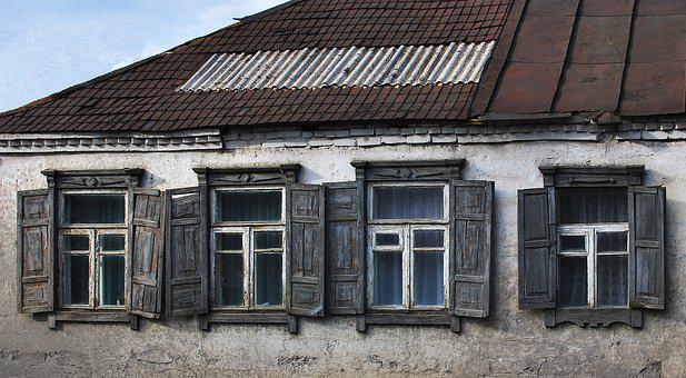 Architecture, House, Old, Window, Building