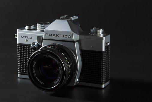 Camera, Vintage, Photography, Film, Lens, Shutter