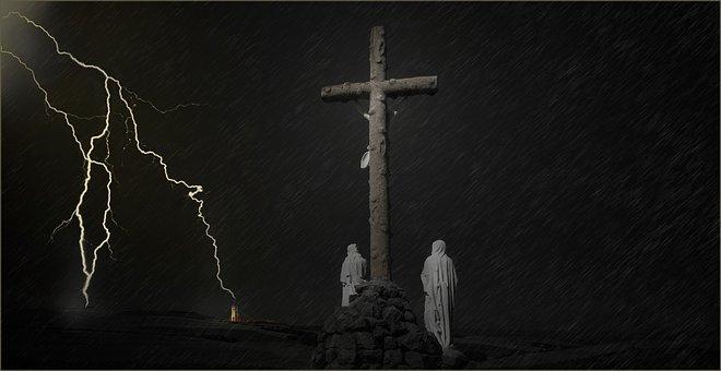 Christian Cross, Religion, Clergy, No Person, Prayer