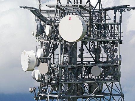 Telecommunication Tower, Converter, Radio Supply, Bowls