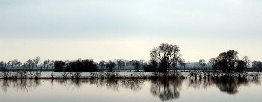 Waters, Nature, Reflection, River, Lake, Mirroring