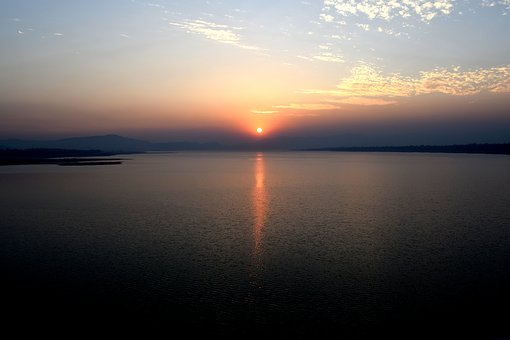 Sunset, Water, Dawn, Dusk, Sun, Evening, Sky
